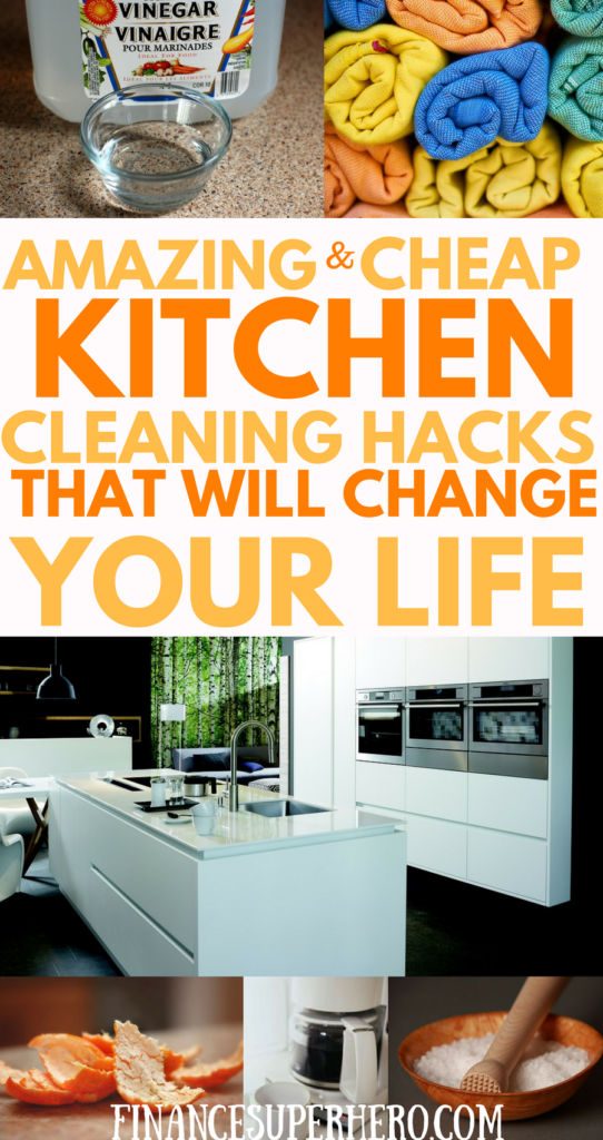 Cheap Small Business Insurance >> Clever Kitchen Cleaning Hacks for Cheapskates and Clean Freaks - Finance Superhero